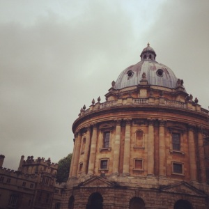 My favorite, the Radcliffe camera reading room
